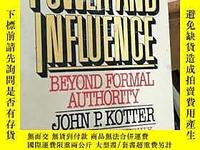 古文物英文原版罕見Power and Influence露天718 John P.Kotter Free Press