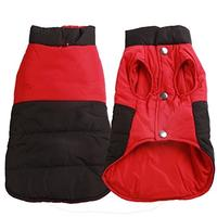 (vecomfy) Reversible Soft Cotton Dog Jacket for Small Dogs Winter Warm Puppy Coat Waterproof Dog...