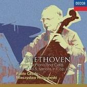 Beethoven: Sonata for Piano and Cello No.2 & No.5, Sonata in F, op. 17 / Pablo Casals, cello / Mieczyslaw Horszowski, piano