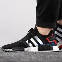 KUMO SHOES-Adidas NMD_R1 CBLACK 慢跑鞋_男女_黑白色_EF2357