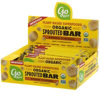 [iHerb] Go Raw Organic Sprouted Bar, Banana Flaxseed , 10 Bars, 0.4 oz (11 g) Each
