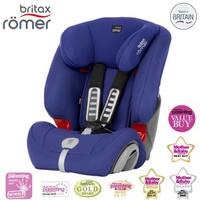 【Britax romer】 Evolva 1-2-3 Plus 旗艦成長型安全座椅 〔藍〕