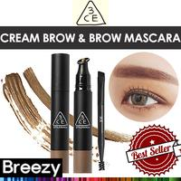 BREEZY ★ [STYLENANDA] 3CE WATER PROOF CREAM BROW BROW MASCARA / 3.5g / 3colors
