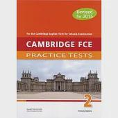 Cambridge FCE 2 Practice Tests Student's Book with MP3 CD and Answer Key