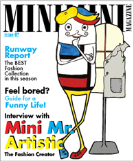 Mini Mini Magazine issue 2 – Interview with Mini Mr. Artistic