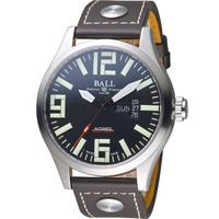 【BALL 波爾】Engineer Master II Aviator腕錶(NM1080C-L14A-BK)
