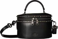 COACH Womens Selena Trail Bag with Crystal Embellishment