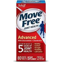 Move Free Triple Strength Glucosamine Chondroitin and Hyaluronic Acid Joint plement 80 Count