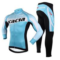 (Acacia) ACACIA Unisex Long-sleeved Suit Jersey Jacket Shirt Clothing Pants for Mountain Bike Cyc...