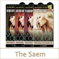 [The Saem] Silk Hair Glam Color Cream (no1 40g + no2 80ml)