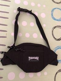 Thrasher Logo Shoulder Bag 火焰 字體 腰包