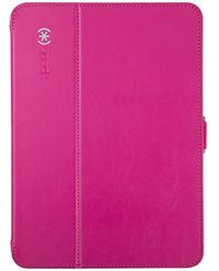 Speck Products Style Folio Case and Stand for Samsung Galaxy Tab 4 10.1 Fuchsia Pink/Nickel Grey
