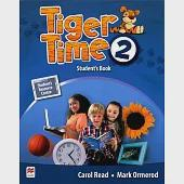 Tiger Time (2) Student's Book with Access Code(1/e)