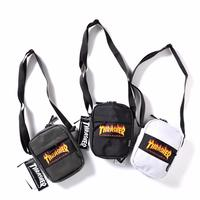 《實拍》THRASHER Shoulder Bag 小包 火焰 側包 腰包 斜背包 日本限定 thrasher小包