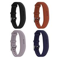 Huadea compatible Replacment for Fitbit Flex 2 With Watch Buckle Comfortable Soft Silicone Wrist...