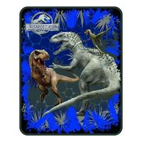 Jurassic World Rumble in The Jungle 40 x 50 Kids Silk Touch Throw (1)
