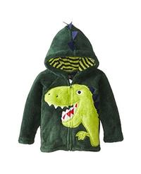 (Fedpop) Fedpop Baby Boy s Cotton Coat Cartoon Animal Thick Outerwear Hoodie Jacket for Toddler 1...