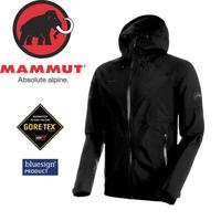 【MAMMUT Convey Tour HS Hooded Jacket 男《黑》】1010-26030-0001/長毛象/Gore-Tex /風雨衣/連帽防水