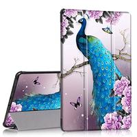 Samsung Galaxy Tab A 8.0 2017 Case PIXIU Slim Light Smart Cover Stand Hard Shell Case with Auto S...