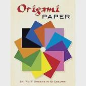 Origami Paper: Includes 24 Sheets of Color Paper in 12 Colors
