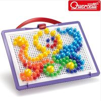 ◆Quercetti 60Years Made in Italy◆100% Genuine Fanta Color Portable Mix 160pcs/Build Beautiful Mosaics Toy Block Kids Toy Playing Sense of touch/Play Visual Coloful Building Blocks◆Toddler Gift