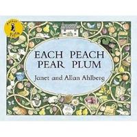 【廖彩杏有聲書單】 EACH PEACH PEAR PLUM (JY版)
