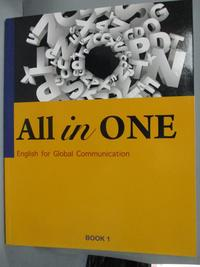 【書寶二手書T3/語言學習_WGX】All in one. book 1 : english for…_Ryan Cam