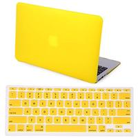 (HDE) HDE HDE Rubberized Hard Shell Plastic Case + Matching Keyboard Skin for Macbook Air 11.6 -...