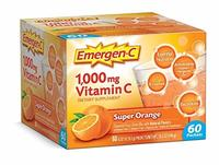 (Emergen-C) Emergen-C Dietary Supplement Fizzy Drink Mix with 1000mg Vitamin C 0.32 Ounce Packet...