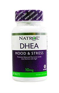 [USA Shipping] Natrol DHEA 100% Vegetarian 10mg Tablets 30-Count (Pack of 2)