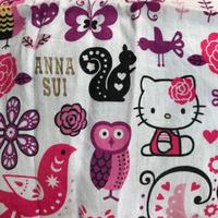 ANNA SUI x hello kitty 聯名手帕