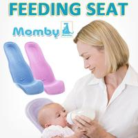 [Momby]Baby Care Seat/Newborn Infant Feeding Seat for Breast/Bottle Feeding/Portable Breastfeeding Cushion/Cotton 100%/Made in KOREA/Easy to Use Comfortable for Mom/Maternity Mother products