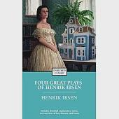 Four Great Plays: A Doll's House, The Wild Duck, Hedda Gabler, The Master Builder