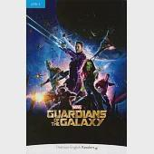 Pearson English Readers Level 4: Marvel's Guardians of the Galaxy with MP3 Audio CD/1片