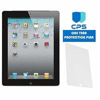 Apple iPad 2-2nd Generation - Bundle - $99 Value (Bundle Includes: Tempered Glass + 1 Year CPS Li...