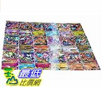 [美國直購] 18pcs/Set Pokemon TCG MEGA HOLO Flash Poke Cards EX Charizard Venusaur Blastoise 寵物小精靈周邊