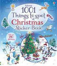 1001 Christmas Things Spot Sticker Book