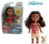 EXCLUSIVE - Disney Petite Adventure Moana and Pua Doll - Play out the Story Again and Again with...