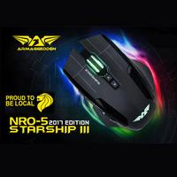 Starship III Mouse Up to 10K CPI | 9 Buttons | High Quality OMRON Switches/gaming/Produced in Korea