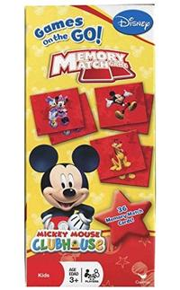 (Disney) Disney Mickey Mouse Clubhouse Memory Match Game- (PackageQuantity:1)