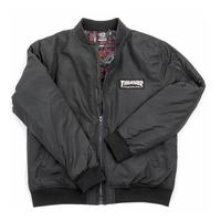 【HopesTaiwan】THRASHER BOMBER JACKET 夾克-BLACK