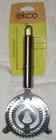 (Ekco) EKCO 3 Stainless Steel Two Prong Cocktail Strainer-Two Prong 3