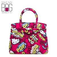 【SAVE MY BAG】中尺寸小姐包Hello Kitty MISS 3/4 - ICONICS RED(HK Red 紅白色)
