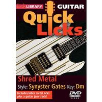 【Lick Library系列】Shred Metal - Quick Licks Style: Synyster Gates