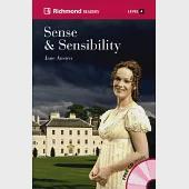 Richmond Readers (4) Sense and Sensibility with Audio CDs/3片
