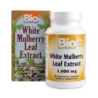 [USA Shipping] Bio Nutrition White Mulberry Leaf Extract 1000 Mg 60 Count
