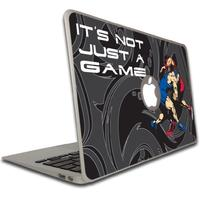 Macbook Air or Macbook Pro (13 inch) Vinyl Removable Skin - Wrestling Themed - It s Not Just a Game