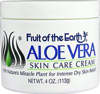 Fruit of the Earth Aloe Vera Skin Care Cream 4 Ounce