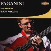 Paganini: 24 Caprices on Guitar / Eliot Fisk