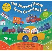 【廖彩杏有聲書單】 JOURNEY HOME FROM GRANDPA'S (VCD新版)